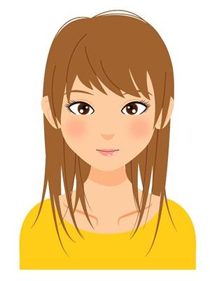 ブライトスプリング髪色イメージ