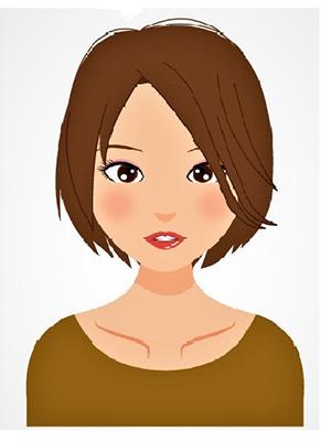 ヴィヴィッドスプリング髪色イメージ