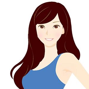 クリアウィンターに似合う髪色イメージ
