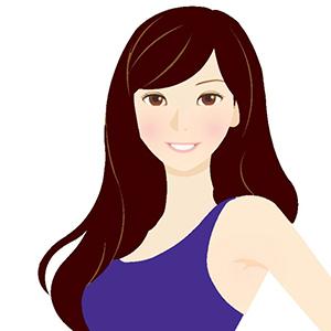 クールウィンターに似合う髪色イメージ