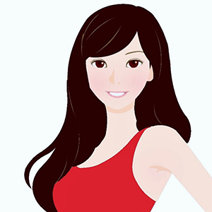 ビビッドウィンターに似合う髪色イメージ
