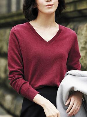 ユニクロカシミヤセーター