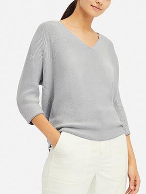 ユニクロ3Dコクーンセーター