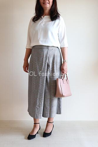 40代ファッション体型カバーコーデ