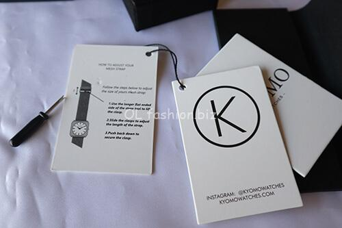 kyomo腕時計バンド調整