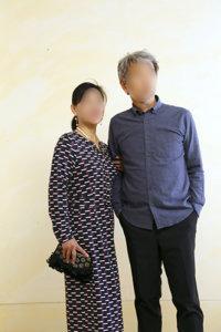 50代60代夫婦コーデ
