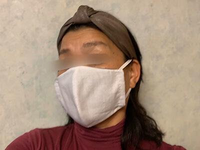 手作りマスク作り方